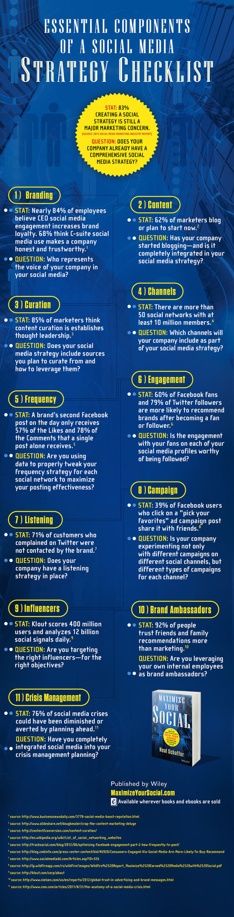 11 Ingredients for a Complete Social Media Strategy Plan (INFOGRAPHIC)   Social Media & Digital Marketing   Scoop.it