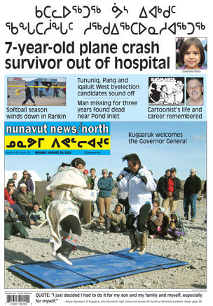 Headlines for Nunavut News North for August 22nd 2011 | Inuit Nunangat Stories | Scoop.it