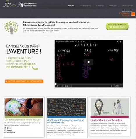Bibliothèques Sans Frontières lance la Khan Academy en français | Enssib | Bibliothèques et social | Scoop.it