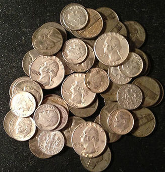 MUST SEE!!!! Lot Old US Junk Silver Coins 1/2 Pound LB Pre-1965 Readable Dates   Silver deals and info   Scoop.it