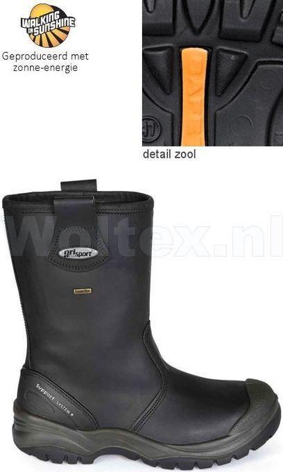 Grisport 72401C Offshore S3 Werklaarzen Veilige neus- zool Waterdicht Overneus zwart | Safety sneakers, safety shoes, workwear, safety, news and other stuff | Scoop.it