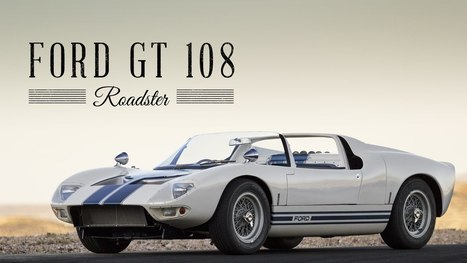 ▶ 1965 FORD GT40 108 Prototype | Roads & Rides - YouTube | Heron | Scoop.it