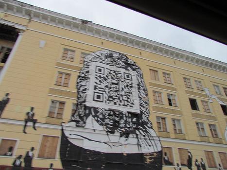 Giant QRcode in Russia | QRdressCode | Scoop.it