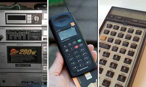 Old tech: the obsolete gadgets you just couldn't bear to throw away | Technological Sparks | Scoop.it