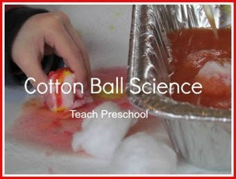 Cotton ball science in preschool | Teach Preschool | Scoop.it