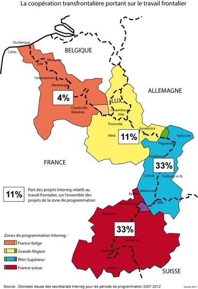 Vers un modèle multiscalaire des territoires frontaliers intérieurs à l'Union européenne | ECS Géopolitique de l'Europe | Scoop.it