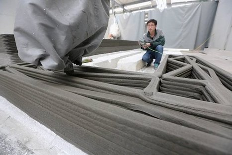 A Chinese Company 3D Printed 10 Houses In A Day | Business Insider | 3D and 4D PRINTING | Scoop.it