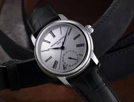 Frédérique Constant Classic Manufacture : l'entrée de gamme en manuf' | Passion News Frédérique Constant | Scoop.it
