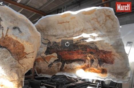 En vidéo dans les coulisses - Les petites mains de la grotte de Lascaux IV, projet soutenu par l'Union européenne | Fonds européens en Aquitaine | Scoop.it