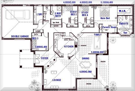 Open Concept House Plans Design | Home Design | Scoop.it
