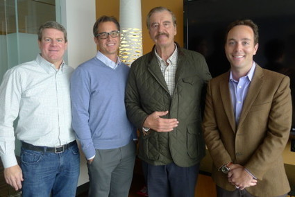 Former Mexico president Vicente Fox shares wisdom with Seattle startups, schools | Real Estate Plus+ Daily News | Scoop.it