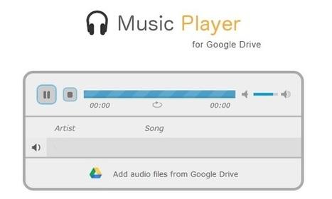 Reproducir archivos mp3 directamente de Google Drive | Las TIC en el aula de ELE | Scoop.it