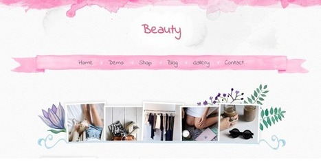 BEAUTY | Blogger themes | Scoop.it