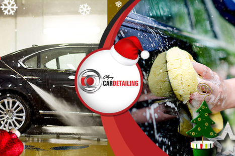 Professionals Tips On Car Washing For Upcoming Christmas | Calgary Car Detailing – Home of Premium Auto Detailing Services | Scoop.it