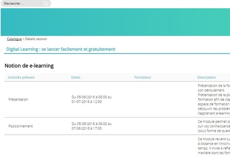 """Portail Skoden pour la formation ouverte et à distance - """"Digital Learning"""" : un MOOC pour se former au e-learning   FOAD & individualisation - Session 3   Scoop.it"""