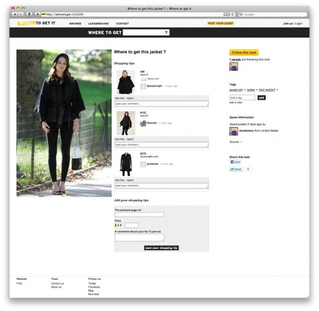 LYST | Fashion Curation Tool | Where To Get It: The French fashion website that wants to inspire you - TNW | Social Media Content Curation | Scoop.it