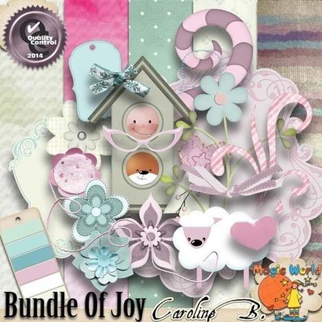 Bundle of Joy Art - $2.99 : Caroline B., My Magic World of Digital Design | SCRAPBOOKING | Scoop.it