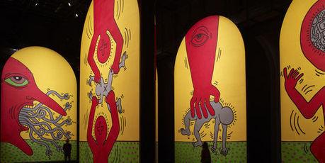 Keith Haring fait le coup de poing dans la ville. (LE MONDE)   keith Haring   Scoop.it