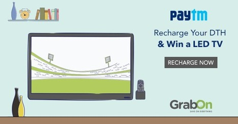 Get A Chance To  Be One Among The Three lucky Winners and Win A Prize 40+ Inch Full HD LED TV http://www.grabon.in/paytm-coupons/ #SaveOnGrabOn | GrabOn | Scoop.it