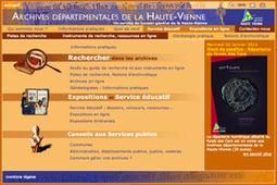 GénéInfos: Haute-Vienne en ligne : il faudra attendre 2014 !   Rhit Genealogie   Scoop.it