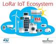 STMicroelectronics s'engage à fond derrière la technologie LoRa | Innovation Numérique | Scoop.it