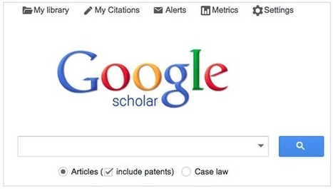 Use Google Scholar to Support Student Research | Learning  and Libraries | Scoop.it