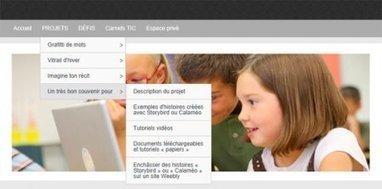 Créer des histoires numériques autrement en mode collaboratif ou pas - Educavox | Contes et autres histoires | Scoop.it