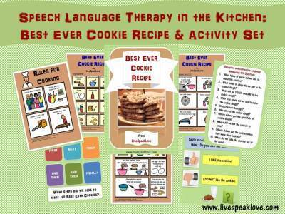 New Resource Series: Speech-Language Therapy in the Kitchen | Speech-Language Pathology | Scoop.it