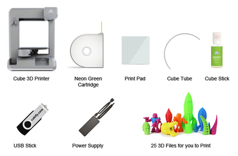 Cube 3D Printer - THE Personal 3D Printer for home | Technology Posts | Scoop.it