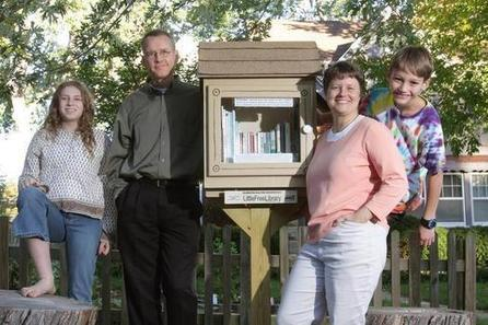 Check it out: Little free libraries are sprouting up all around town - Kansas City Star | Thoughts from an Elementary Librarian | Scoop.it