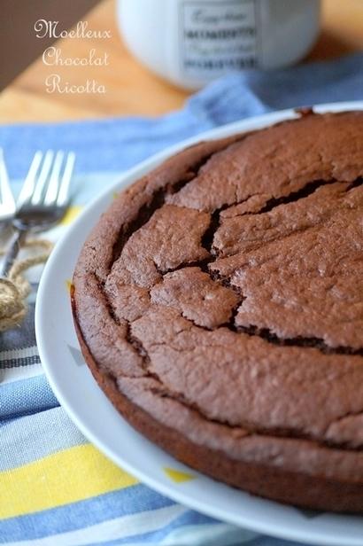 Gâteau Fondant à la Ricotta & au Chocolat | Recette Dessert Gâteau & Cake | Scoop.it