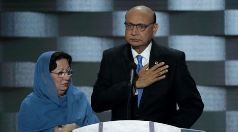 Donald Trump's slander of Captain Humayun Khan's family is horrifying, even for Trump | For safe keeping | Scoop.it