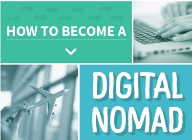 How to Digital Nomad Like a Boss [Infographic] | Daily Infographic | Things and Stuff | Scoop.it
