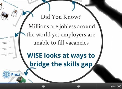 Special Focus: Bridging the Skills Gap | WISE - World Innovation Summit for Education | Web 2.0 for juandoming | Scoop.it