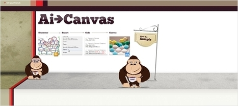 Illustratorのデータをcanvasに変換する・「Ai to Canvas」 - かちびと.net | めもめも2nd | Scoop.it