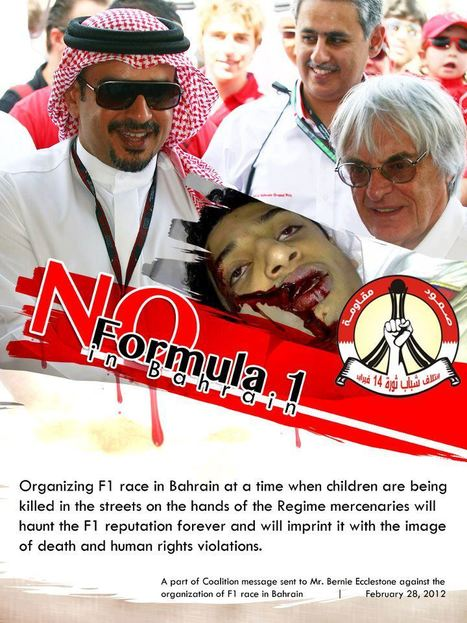 No Bahrain F1 | Human Rights and the Will to be free | Scoop.it