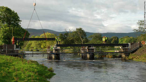 World's longest recycled bridge spans Scottish river - CNN.com | Technology and Gadgets | Scoop.it