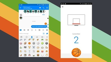 How to Play Facebook Messenger's Hidden Basketball Game | iPhones and iThings | Scoop.it