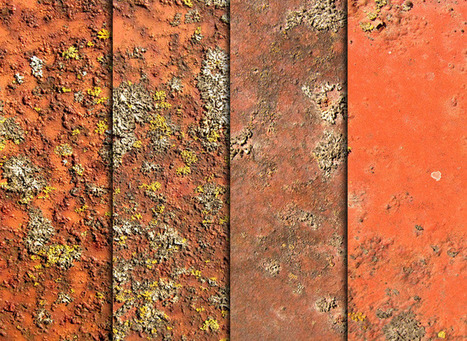 Free Rust, Moss, & Metal Textures | All Things Illustration and Design Resources - SDWHaven | Textures and Backgrounds Journal | Scoop.it