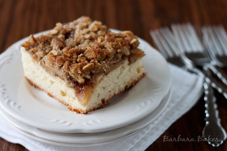 Holiday Apple Kuchen | Barbara Bakes | Food for Foodies | Scoop.it