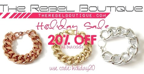 Home / The Rebel Boutique | Handmade Crafts | Scoop.it