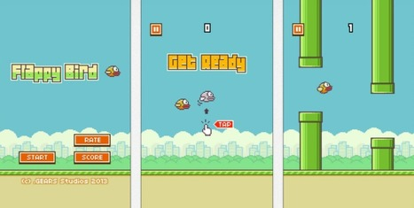 Flappy Bird: creador eliminó la app en Android y iOS en Latam Review | Technology  Reviews | Scoop.it
