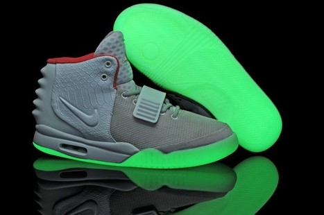 Air Yeezy 2 Glow In The Dark Shoes Wolf Grey White Hot Sale Online | Cheap Glow In The Dark Air Yeezy | Scoop.it