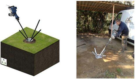 Piloedre, un nuevo tipo de cimentación para estructuras ligeras.   INGENIERIA CIVIL   Scoop.it