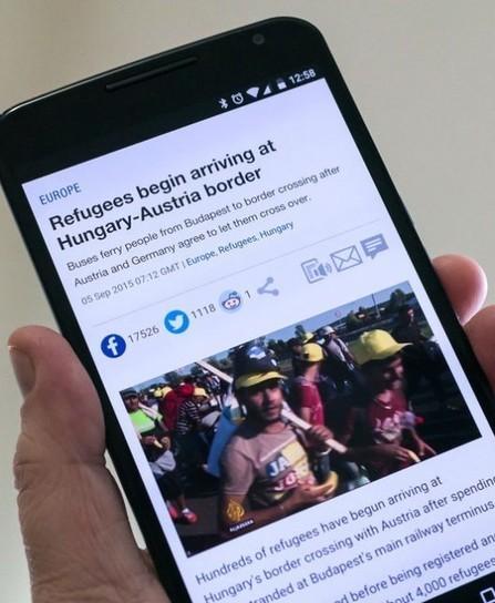 Waar Syrische vluchtelingen die iPhones voor gebruiken | Mediawijsheid in het VO | Scoop.it