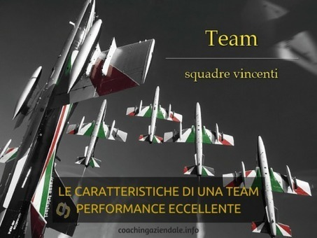 LE CARATTERISTICHE DI UNA TEAM PERFORMANCE ECCELLENTE (di Sergio Amatulli) - Coaching aziendale   Coaching Aziendale e Crescita personale   Scoop.it