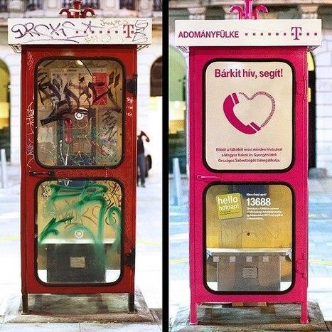 Les cabines téléphoniques recyclées | StartUP Times | Scoop.it