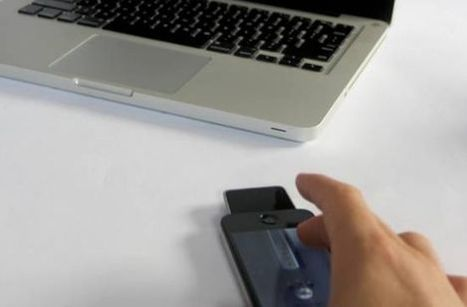 Dongle and App Turn Your iPhone into Mouse with In-Air Gestures - Cult of Mac   Gestuality   Scoop.it