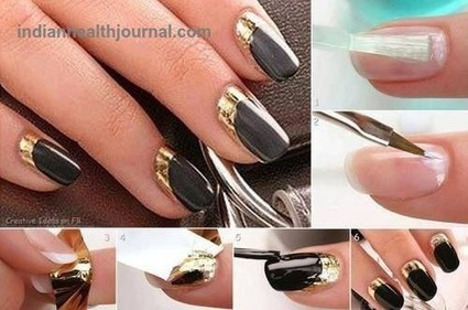 How to Do Nail Art At Home|Nail Art Designs | indianjouranalhealth.com | Scoop.it
