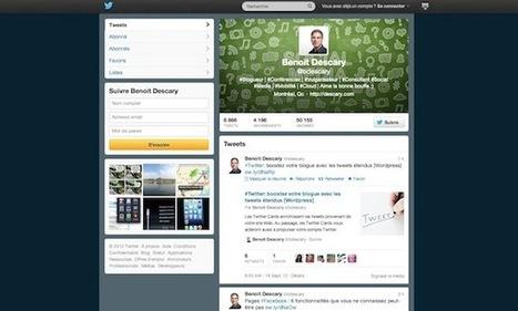 Twitter: comment ajouter une image d'en-tête à votre profil | Tous sur les Réseaux Sociaux | Scoop.it